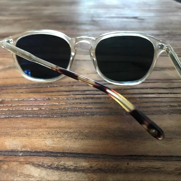 87f46e3828a Garrett Leight Accessories - Garrett Leight Kinney Sunglasses - Champagne  Frame